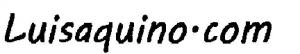 luisaquino.com